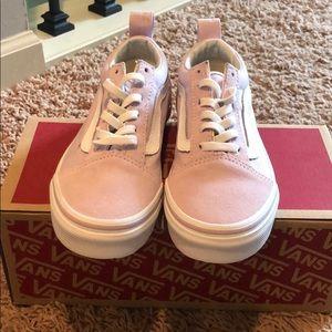 Girls Vans Old Skool Elastic Sneakers